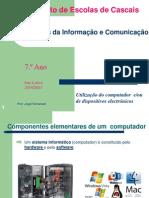 Unidade 1.3. - Estrutura e Funcionamento de Um Computador