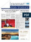 Myanmar Business Today Vol 2, Issue 38