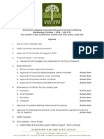 DOA Board Meeting October 1, 2014 Agenda Packet