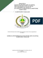 Proposal Mtq 2013 Bimas