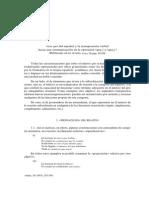 Álvarez Menéndez. Los 'Que' Del Español y La Transposición Verbal, Hacia Una Sistematización de La Oposición Que1 y Que2. Verba 20. 293-309.
