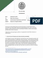 SD Councilmembers Alvarez & Harris Drought Alert Memorandum