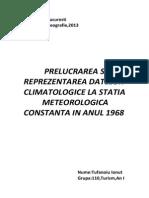 Proiect Climatologie
