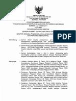 MENPAN; Permenpan 33 Tahun 2011 Ttg Pedoman Analisi Jabatan