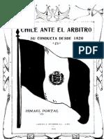 Chile Ante El Árbitro Su Conducta Desde 1820