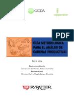 Guia Para El Analisis de Cadenas Productivas - Snv 2004