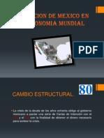 Inserccion de Mexico en La Economia Mundial