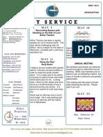 Luuf Newsletter May 2014.Pub