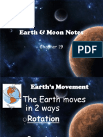 earth  moon notes ppt