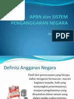 Anggaran Negara Dan APBN 23