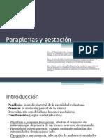 Capitulo 11. Paraplejias y Gestación Presentación