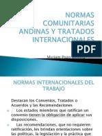 Normas Comunitarias y Tratados Internacionales