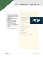Funciones Exponenciales y Logaritmas