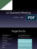 LC Q1 Meeting