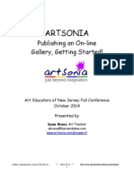 Artsonia - Getting Started 2014 AENJ