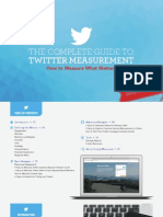 The Complete Guide to Twitter Measurement Second Edition