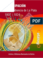 ABNB. Emancipacion de La Audiencia de La Plata.desbloqueado