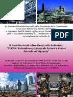 29-09-14 II Foro Nacional sobre desarrollo industrial de TLCAN