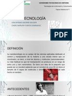 Presentación nanotecnologia
