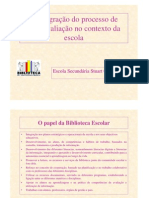 Microsoft PowerPoint - A integração do processo de auto-avaliação