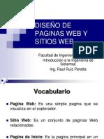 Diseño de Paginas Web y Sitios Web