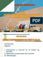 Diseño de Mezcla Concreto II (Villegas)