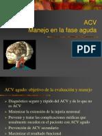 Manejo de ACV
