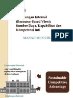 Bab 5 Lingkungan Internal