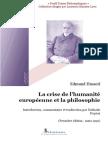 20861887 La Crise de l Humanite Europeenne Et La Philosophie