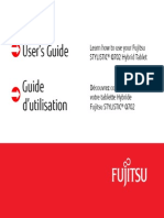 2013 Fujitsu Stylistic q702 User Manual