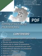Administración de Proveedores Completa