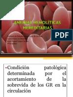 Anemias hemoliticas hereditarias