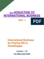 001 Globalisationl NOTES