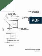 C&C of Honolulu Zoning Variance Guidebook