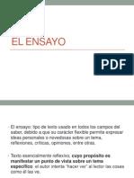 El Ensayo 2014