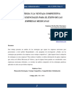 Estrategia Genérica de Porter y Ventaja Competitiva