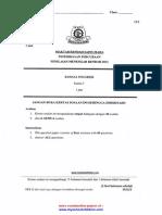 Bahasa Inggeris K1, 2 Trial PMR 2012 MRSM j