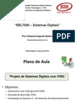 Lab2 VHDL Fluxo Quartus