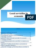 Locul Serviciilor În Economie