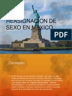 Reasignacion de Sexo en Mexico