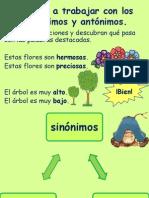 Ppt- sinonimos y antonimos.ppt