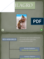 6. El Milagro y Atributos Entitativos.