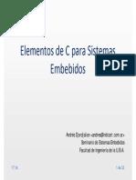 Elementos de C Embebido