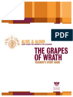 Teacher's Study Guide - The Grapes of Wrath