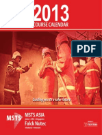 Course Calendar 2013 - Msts Johor, Miri, Singapore, Thailand and Vietnam