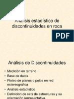 Analisis Estadistico de Discontinuidades en Roca Lab