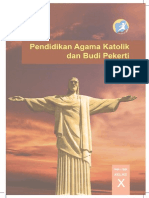 Buku Siswa Kelas X Pendidikan Agama Katolik