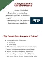 2010 AICP Exam Prep Impact Assessment Cost Benefit