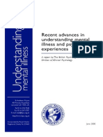 Recent Advances in Understanding Psychosis