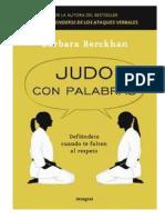 Judo Con Palabras Libro